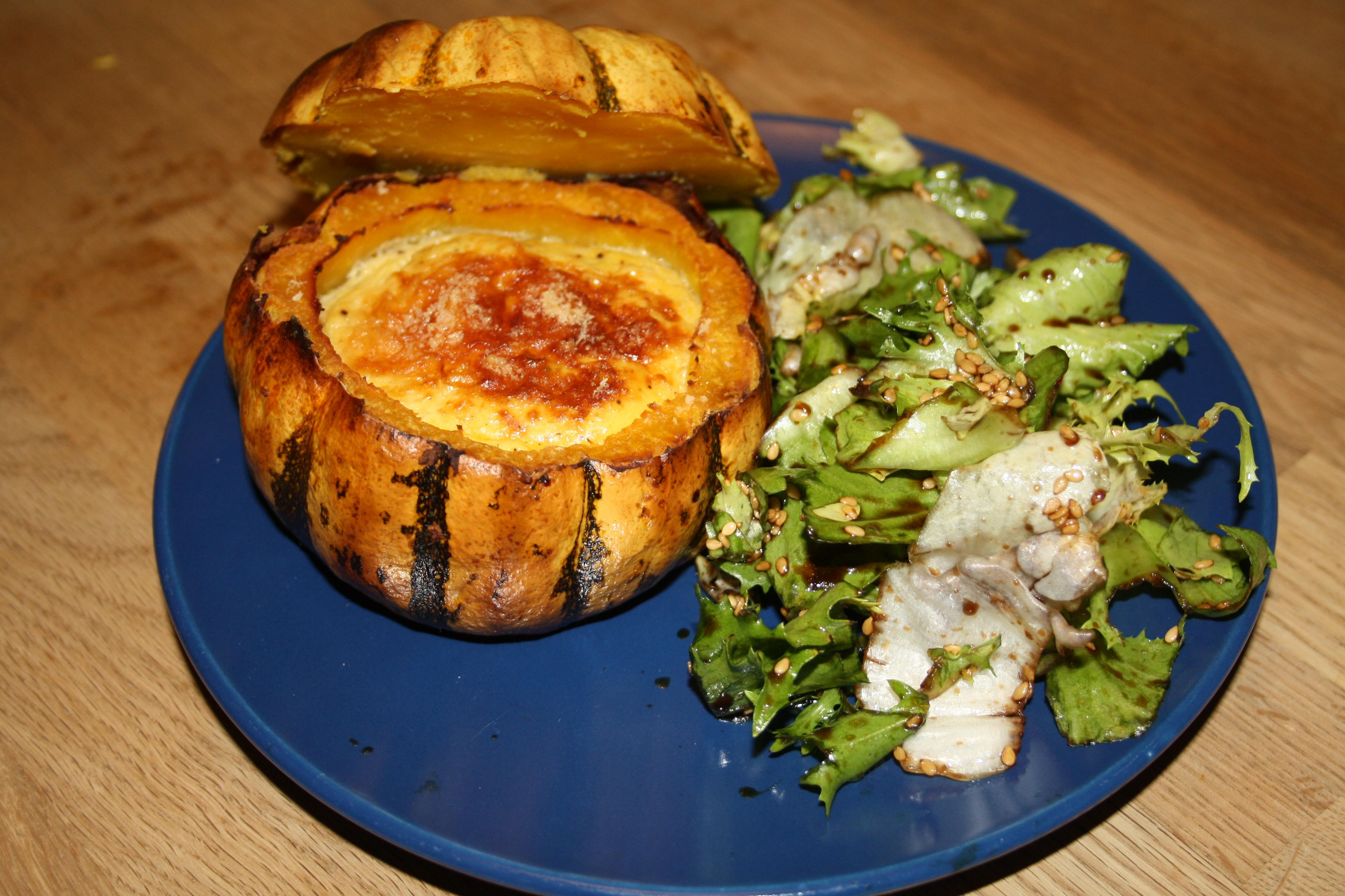 Gratin de courge patidou et ricotta blog de cuisine de l - Comment utiliser la ricotta en cuisine ...