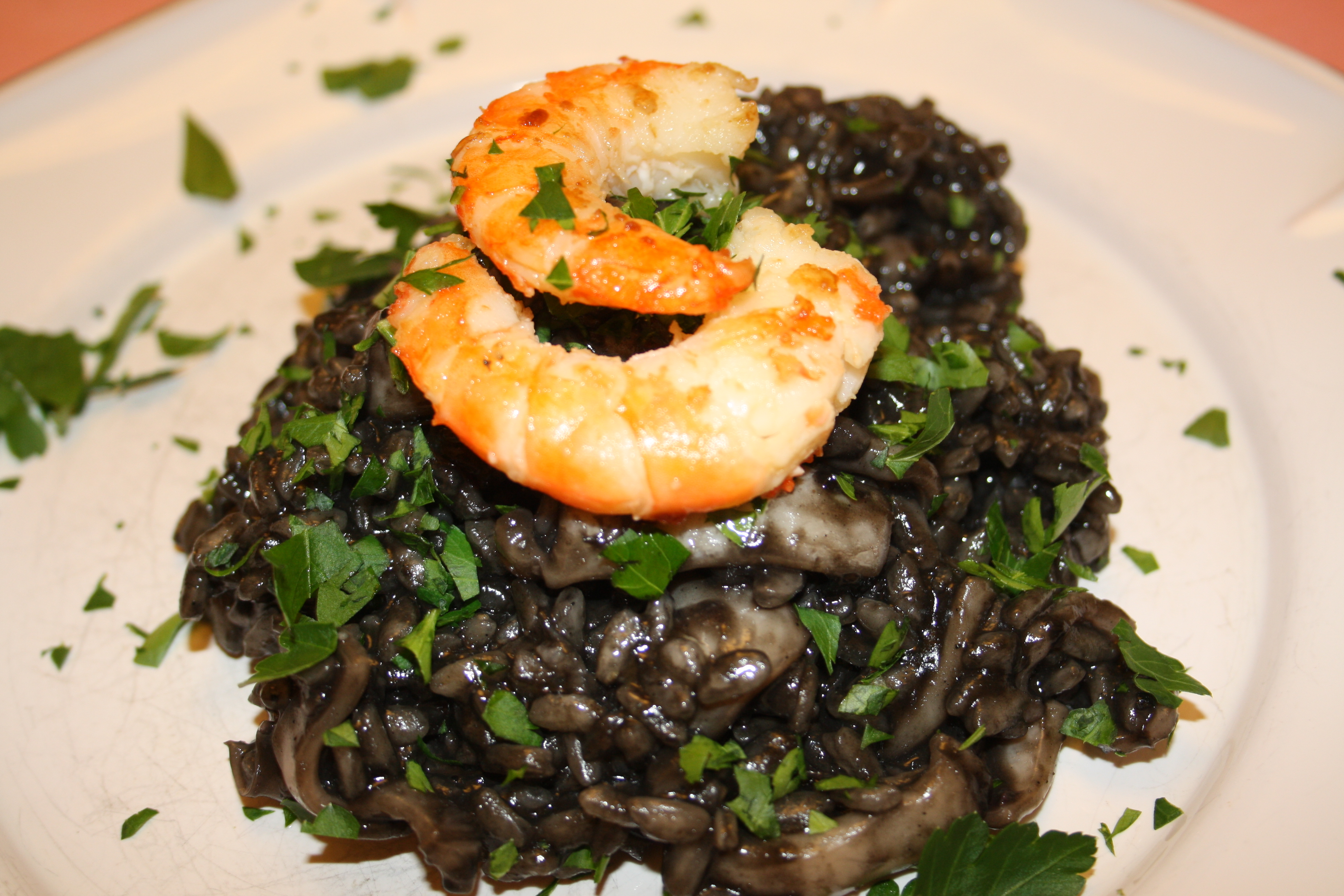 risotto noir aux calamares blog de cuisine de l 39 amap. Black Bedroom Furniture Sets. Home Design Ideas