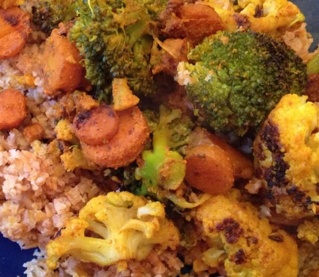 Verdure al curry 1