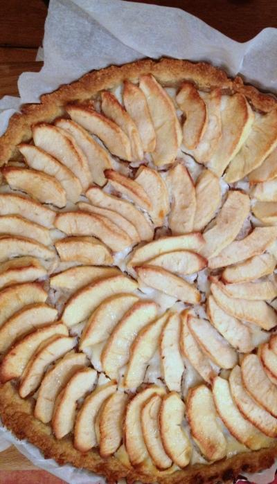 Torta mele e ricotta 2