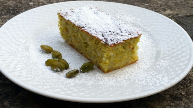 Gâteau au riz et à la pistache 3