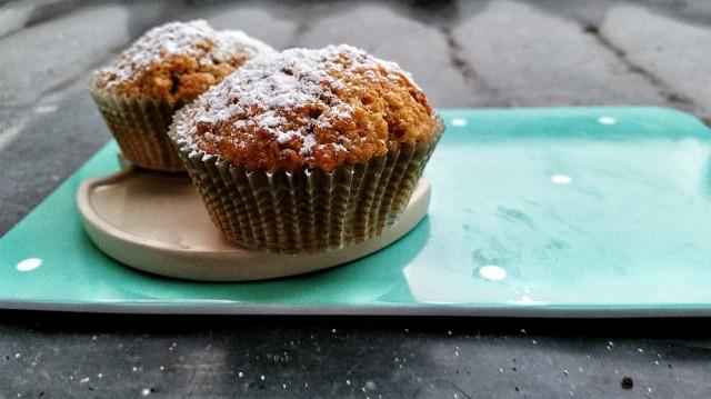Muffin à la carotte et noisettes