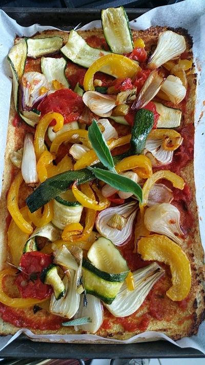 Pizza di cavolfiore 1