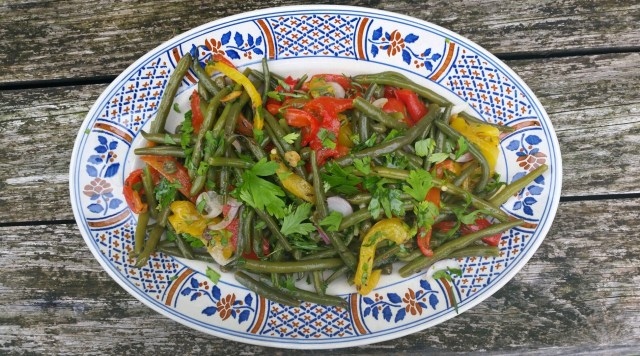 Salade Ottolenghi haricots verts