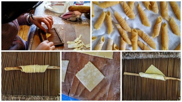 Garganelli making of